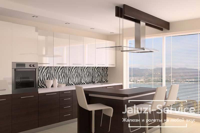 Применение различных систем жалюзи в современной квартире или доме