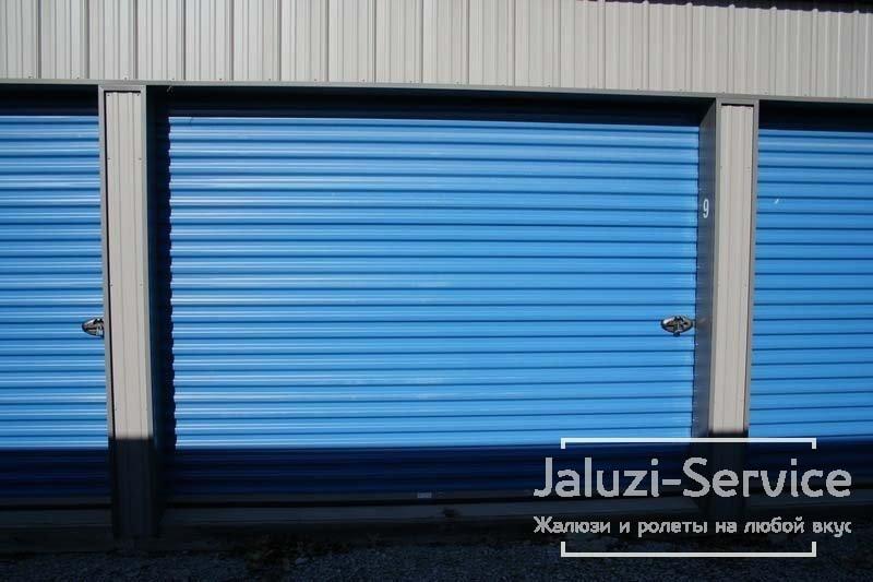 Рулонні гаражні ворота для приватних володінь і виробництв